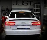 Установка омывателя камеры заднего вида на Audi A6
