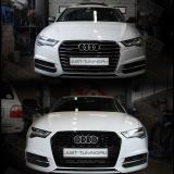 Установка решетки на new Audi A6 от RS6
