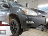 Усилили тормозную систему Lexus RX