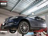Изготовление H-pipe на Mercedes CLS