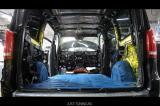 Подсветка салона и шумоизоляция MB V-class