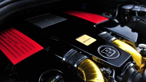 Brabus комплект увеличения мощности для Mercedes-Benz GL 63 AMG (X-166)