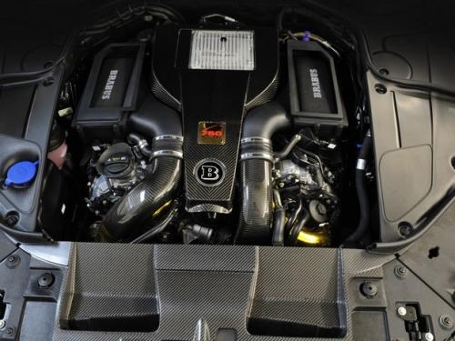 Brabus B63S-760 комплект увеличения мощности для Mercedes-Benz S-class 63 AMG (W-222)