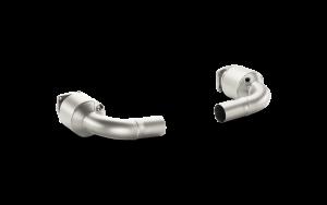 AKRAPOVIC L-PO991T/1 спортивные катализаторы для PORSCHE 991 Turbo и Turbo S (титан)
