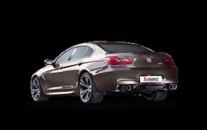 AKRAPOVIC ME-BM/T/6H Выхлопная система без насадок Evolution для BMW M6 Gran Coupé F06 (титан)
