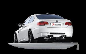 AKRAPOVIC M-BM/T/3H Глушитель без насадок Slip-On для BMW M3 E92,93 2007-2013 (титан)