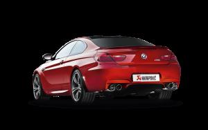 AKRAPOVIC ME-BM/T/5 Выхлопная система без насадок Evolution для BMW F12, F13 M6 (титан)