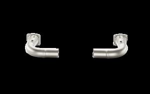 AKRAPOVIC L-PO991T/2 приемные трубы без катализаторов для PORSCHE 991 Turbo и Turbo S (титан)