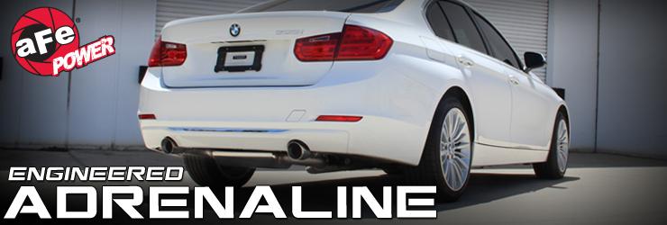 AFE 49-36320-P Выхлоп-катбэк для BMW F30 335i, F32 435i (N55)