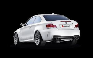 AKRAPOVIC ME-BM/T/3 Выхлопная система от катализаторов Evolution (титан) без насадок для BMW 1M (E82) 2011+