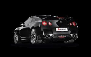 AKRAPOVIC ME-NI/T/1 Выхлопная система Evolution для Nissan R35 GT-R (без насадок)