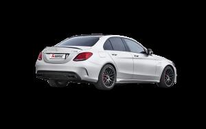 AKRAPOVIC E-ME/T/3 Evolution link pipe set для Mercedes C 63 Sedan (S205)