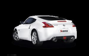 AKRAPOVIC ME-NI/SS/1 Выхлопная система Evolution для Nissan 370Z (без насадок)