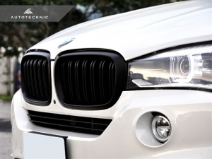 AutoTecknic BM-0174-DS-MB Решетки радиатора Dual-Slats для BMW F15 X5, F16 X6 (черный мат)