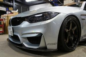 AutoTecknic BM-0175-DS-GB Решетки радиатора Dual-Slats для BMW F32, F80 M3, F82 M4 (черный глянец)