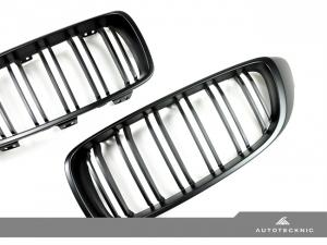 AutoTecknic BM-0175-DS-MB Решетки радиатора Dual-Slats для BMW F32, F80 M3, F82 M4 (черный мат)