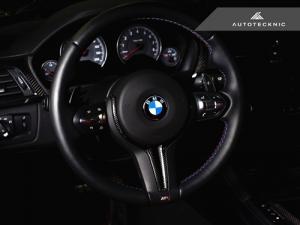 AutoTecknic BM-0183 Вставка для руля BMW F80 M3, F82 M4, F10 M5 LCI, F13 M6, F06 M6 (карбон)