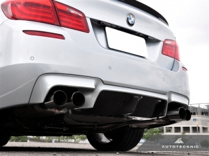 AutoTecknic BM-0350 Диффузор Type One для BMW F10 M5 (карбон)