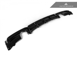 AutoTecknic BM-0400-335 Задний диффузор под 2 насадки для BMW F30 335i M Sport (карбон)
