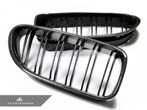 AutoTecknic BM-0612-CF Решетки радиатора Dual-Slats для BMW F12, F13, F06 (карбон)