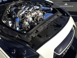 AutoTecknic NS-0009 Направляющая пластина радиатора для Nissan GT-R (сухой карбон)