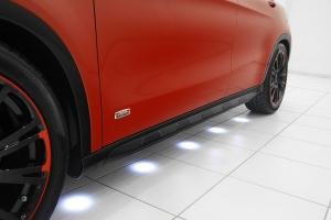 BRABUS комплект порогов с подсветкой для Mercedes-Benz GLA-class (X156)