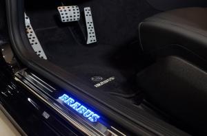 Brabus накладки на пороги с подсветкой для Mercedes-Benz S-klass coupe