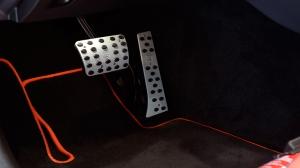 BRABUS накладки на педали для Mercedes-Benz С класса W/S 205 с АКПП