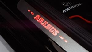 Brabus накладки на пороги с подсветкой для Mercedes-Benz С класса W/S 205