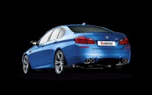 AKRAPOVIC ME-BM/T/4 Выхлопная система без насадок Evolution для BMW M5 F10 (титан)