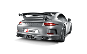 AKRAPOVIC DI-PO/CA/1 диффузор заднего бампера для PORSCHE 911 GT3 (991)