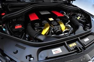 Brabus комплект увеличения мощности для Mercedes-Benz GLE 63 AMG (C-292)