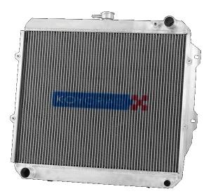 "KOYO HH032412 Радиатор алюминиевый ""половинка"" для MITSUBISHI EVO 7/8/9 MT"